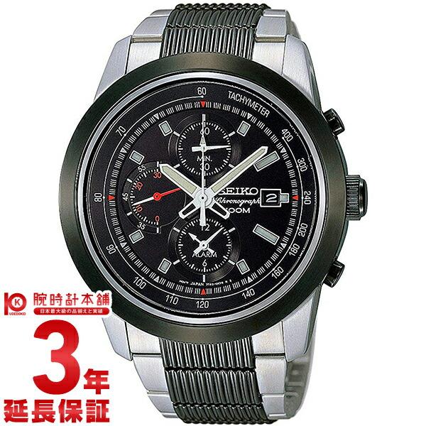 【15日は店内最大ポイント42倍!】 セイコー 腕時計 逆輸入モデル クロノグラフ CHRONOGRAPH [海外輸入品]  クォーツ 100m防水 SNAB19P1 メンズ 腕時計 時計