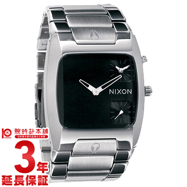 【エントリーでポイントアップ!11日1:59まで!】 NIXON [海外輸入品] ニクソン バンクス BLACK A060-000 メンズ 腕時計 時計