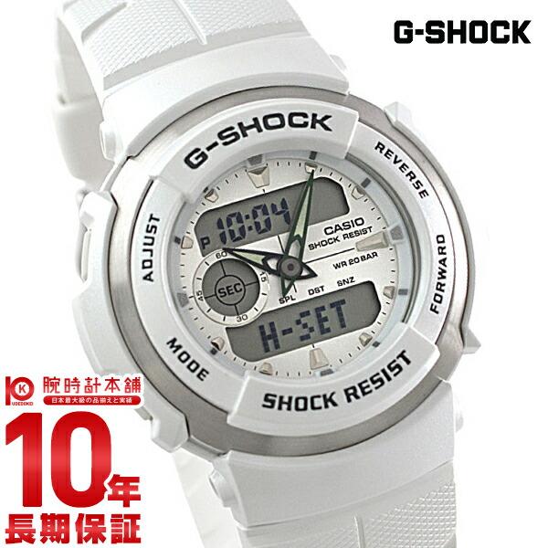 カシオ Gショック G-SHOCK STANDARD G-SPIKE ホワイト×ホワイト G-300LV-7AJF [正規品] メンズ 腕時計 時計(予約受付中)