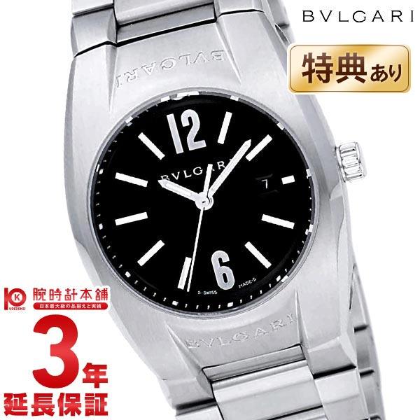 【先着限定最大3000円OFFクーポン!6日9:59まで】 BVLGARI [海外輸入品] ブルガリ エルゴン ブラック EG30BSSD レディース 腕時計 時計