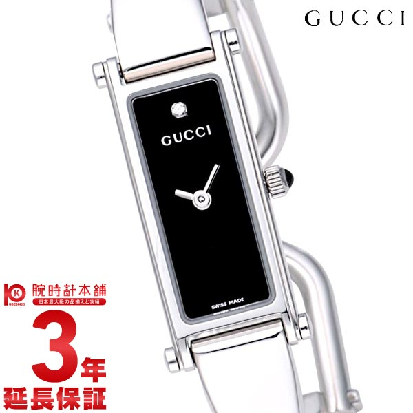 【先着限定最大3000円OFFクーポン!6日9:59まで】 GUCCI [海外輸入品] グッチ 1500シリーズ YA015555-1P-LSS-BLK レディース 腕時計 時計