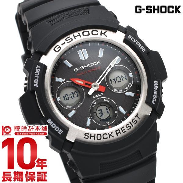 【ポイント最大33倍!9日20時より】カシオ Gショック G-SHOCK タフソーラー 電波時計 MULTIBAND 6 AWG-M100-1AJF [正規品] メンズ 腕時計 時計(予約受付中)