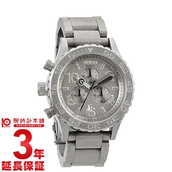 NIXON [海外輸入品] ニクソン THE42-20 クロノグラフ A0371033 メンズ&レディース 腕時計 時計 【dl】brand deal15