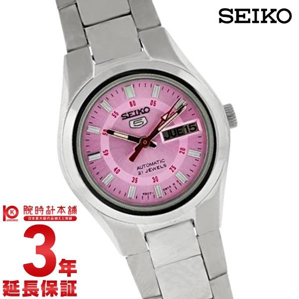 SEIKO5 [해외 수입품]세이코 5 역수입 모델 기계식(자동감김) SYMC23K1 레이디스 손목시계 시계