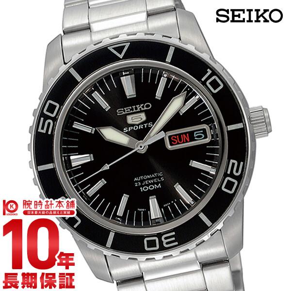 【29日23:59まで店内ポイント最大37倍!】セイコー SEIKO セイコー5 100m防水 機械式(自動巻き) SNZH55J1(SNZH55JC) [正規品] メンズ 腕時計 時計【あす楽】