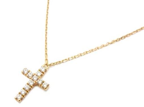 Cartier ハート&シンボル ネックレス K18PG ダイヤ 名古屋高島屋購入品 新品同様 【中古】