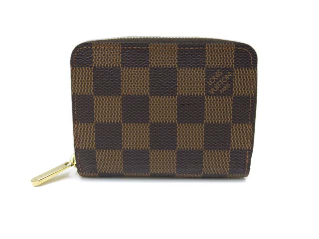LOUIS VUITTON ジッピー・コイン パース ダミエ 未使用 【中古】