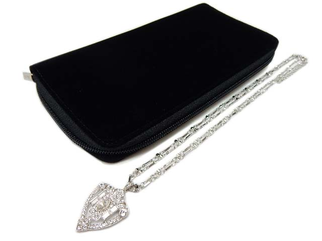 DAISY LIN Necklace ラインストーン ネックレス 36552 クリア 新品同様【中古】