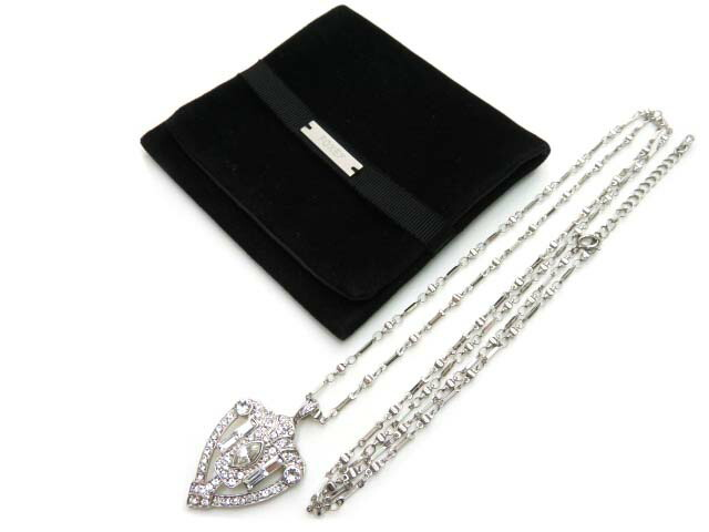 DAISY LIN/FOXEY Necklace ラインストーン ネックレス 36552 クリア【中古】