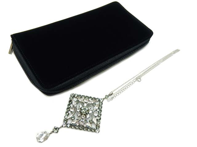 "FOXEY Necklace ""Crystal Lace"" 36880 新品同様【中古】"