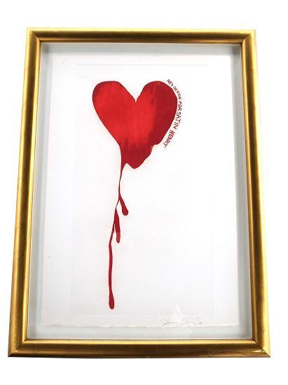 Jim Dine 『RED DESIGN FOR SATIN HEART』 【中古】