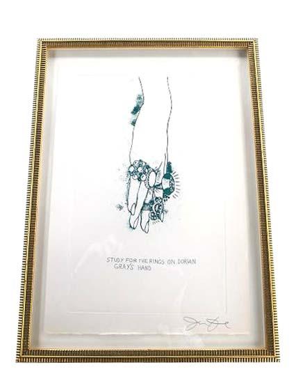 Jim Dine 『ドリアングレーの指環の習作』  【中古】