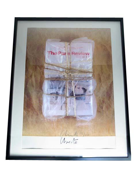 Christo 『THE PARIS REVIEW』  【中古】