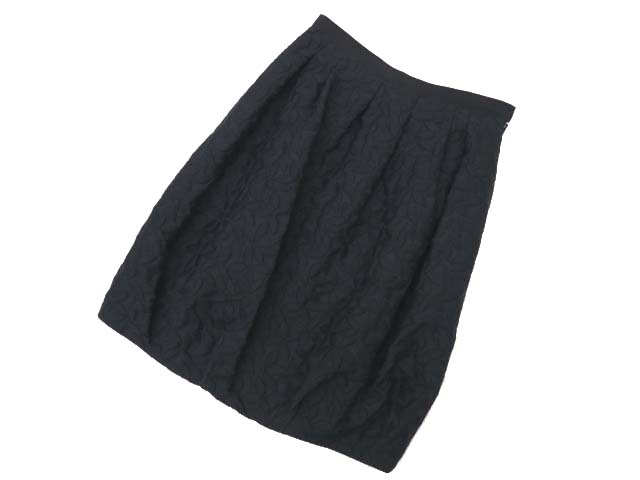 Rene basic スカート ブラック 36 S2 【中古】