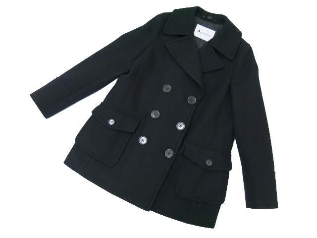 Aquascutum コート ブラック A1美品【中古】