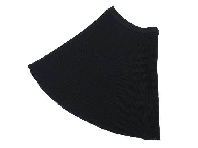 Rene ニットスカート ブラック 36 A1【中古】