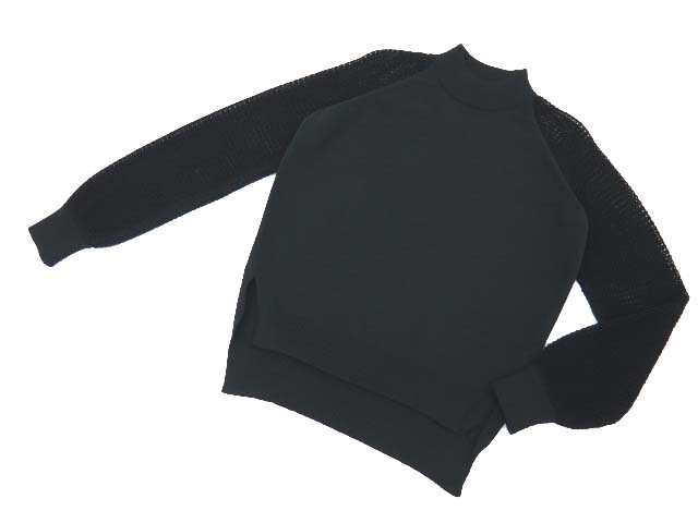 ADEAM 35191 Knit Tops ブラック 4 A1美品【中古】