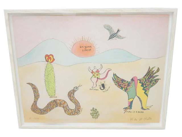 Niki de Saint Phalle 「ボンジュール マックス エルンスト」 A1【中古】