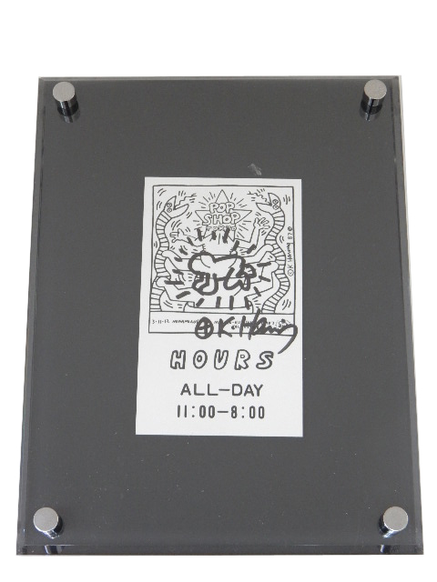 Keith Haring 「無題」 A1【中古】