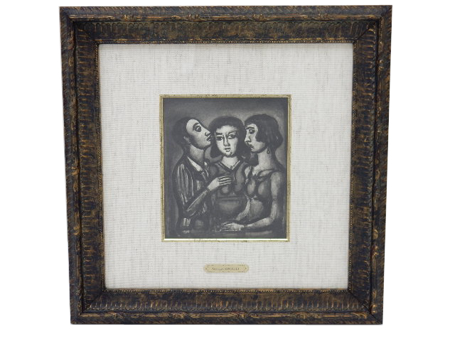 Georges Rouault 「占う人たち」 A1【中古】