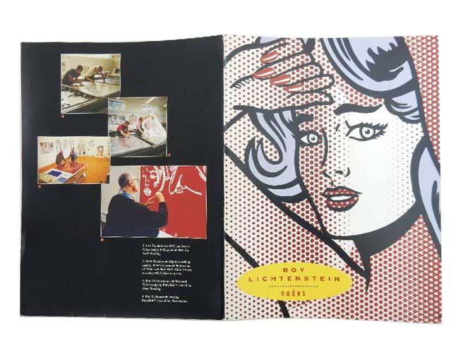 Roy Lichtenstein 『Nudes(小冊子)』 A1【中古】