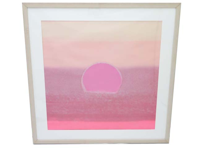 Andy Warhol 「SUNSET」 A1【中古】