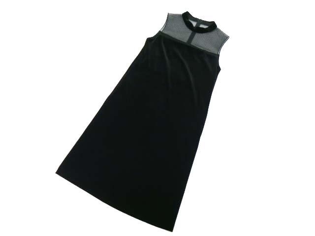 Daisy Velour by FOXEY NEW YORK 35918 Dress ベルベットブラック 38 S1【中古】