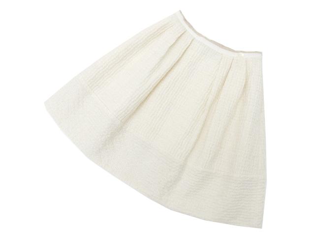 FOXEY BOUTIQUE 36030 Skirt(Vanilla Stitch) アイボリー 40 S2【中古】