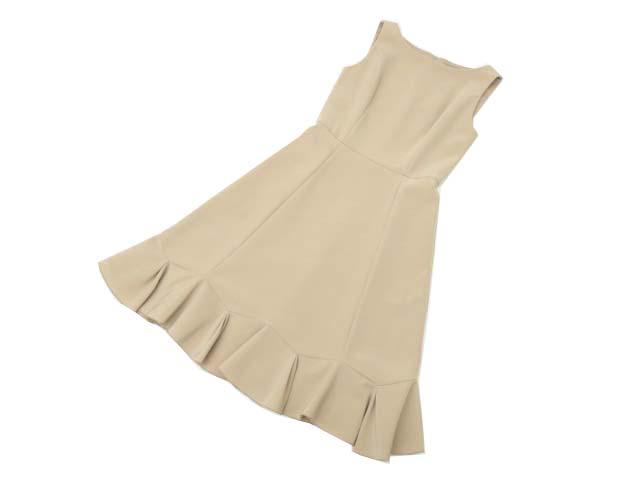 FOXEY NEW YORK 36460 Dress ミルクティ 40 A1美品【中古】