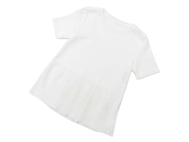 FOXEY BOUTIQUE 36847 Pleated Back Hemknit Top ホワイト 40 S1【中古】
