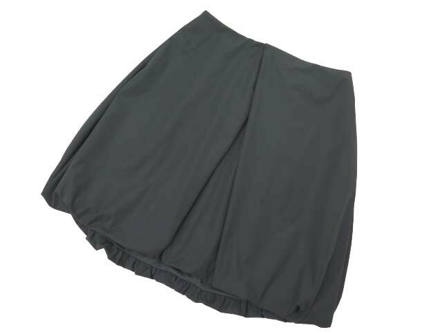 FOXEY NEW YORK 34439 スカート(Layered Balloon) リッチグレー 40 A1【中古】
