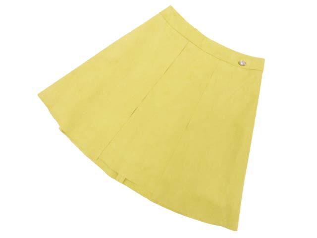 DAISY LIN PARIS 32362 スカート(DAISY SUEDE) マリーゴールド 38 A1美品【中古】