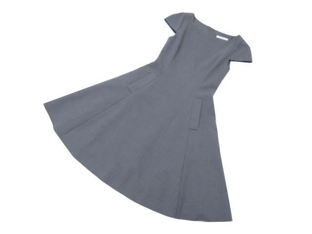 FOXEY BOUTIQUE 36564 Cap Sleeve Full Dress ソフィーグレー 38 A1美品 【中古】