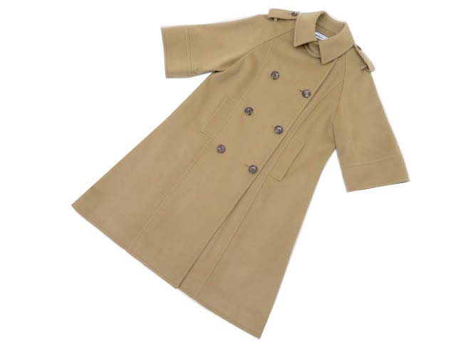 FOXEY NEW YORK COLLECTION 36073 Coat ベージュ系 40 A1【中古】