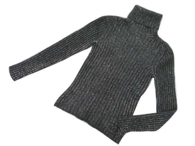 CHANEL セーター チャコールグレー 34 A1【中古】