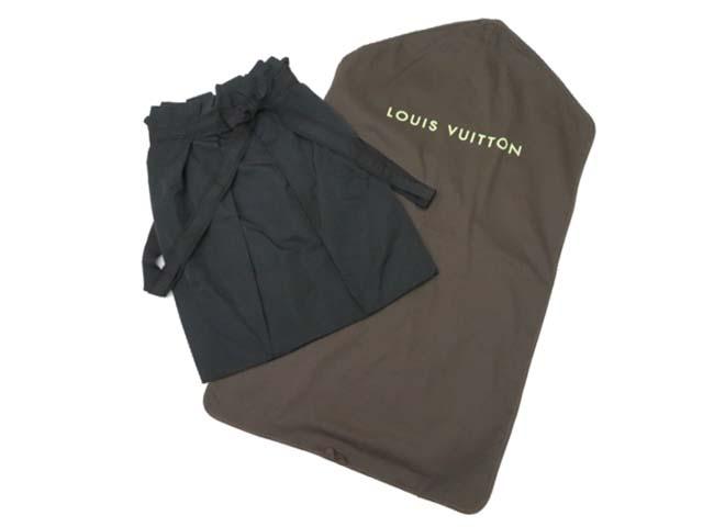 LOUIS VUITTON スカート ブラック 36 A1【中古】