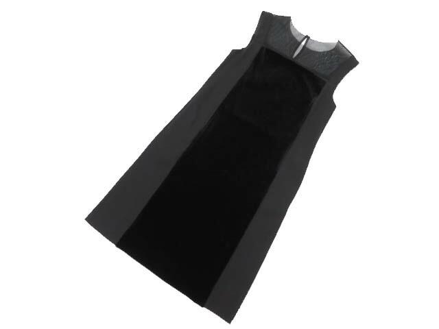 Daisy Velour by FOXEY NEW YORK 35948 Dress(Formal Night) ベルベットブラック 38 S1【中古】