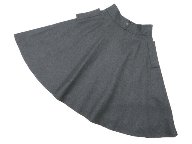 FOXEY BOUTIQUE 37512 Skirt(Riry Flare) リッチグレー 42 S2【中古】