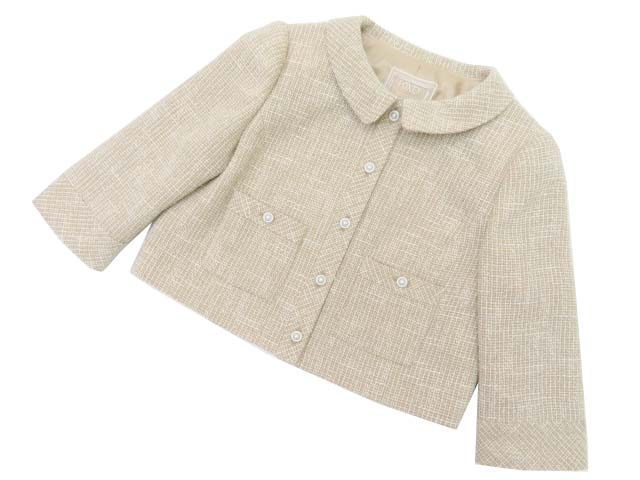 FOXEY BOUTIQUE 38141 Jacket(BOXY CROPPED) キャラメリゼ 38 S2【中古】