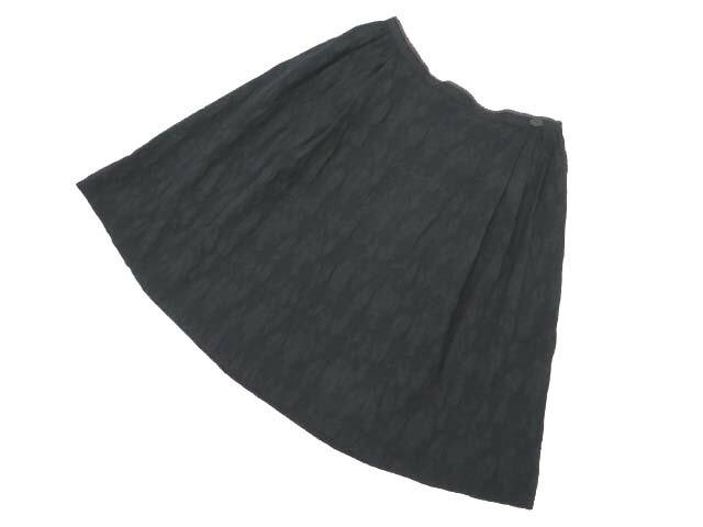 FOXEY BOUTIQUE 36132 スカート(Black Truffe)  ブラックブラック 38 A1【中古】