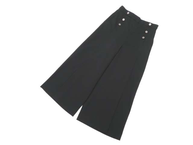 Rene basic パンツ ブラック 36 S2【中古】