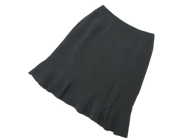 Rene basic skirt ブラック 36 A1【中古】