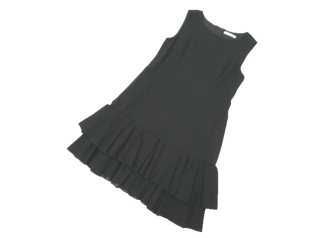 FOXEY BOUTIQUE 37640 Dress(Marigold) ブラックブラック 42 S1【中古】