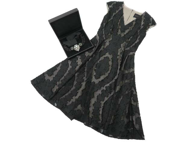 FOXEY BOUTIQUE 35588 Dress(Baroque) ブラックブラック 38 S2【中古】