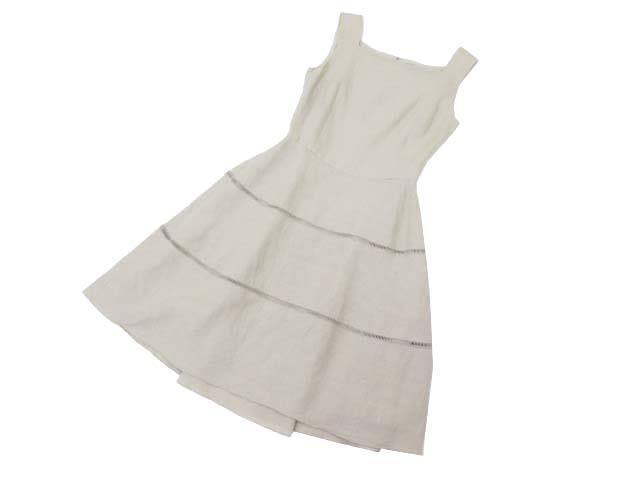 FOXEY BOUTIQUE Dress (Cote d'Azur) ナチュラル 38 A1【中古】