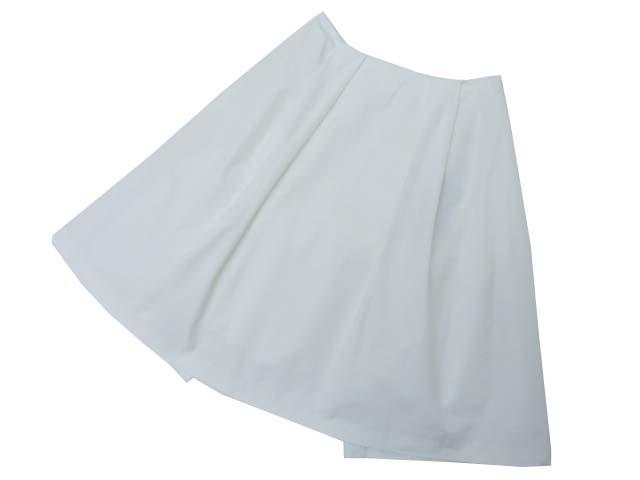 FOXEY BOUTIQUE 33606 スカート(CHOOSE) ホワイト 38 A1【中古】