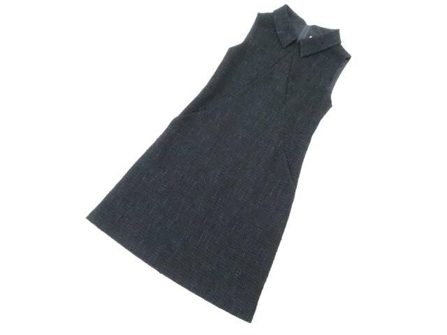 FOXEY BOUTIQUE 37904 Dress(Modern Garconne) ミッドナイトブルー 38 S1【中古】