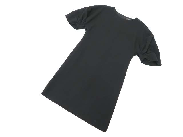 FOXEY BOUTIQUE 36779 Pleat Sleeve Dress ブラックブラック 38 A1美品【中古】