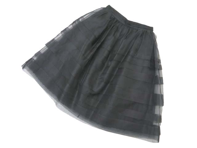 DAISY LIN for FOXEY 37479 Skirt(Daisy Debutante) ブラックブラック 38 A1美品【中古】