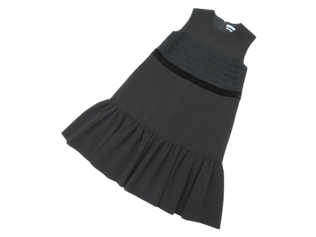 FOXEY NEW YORK COLLECTION 37723 Dress ブラックブラック 38 A1【中古】